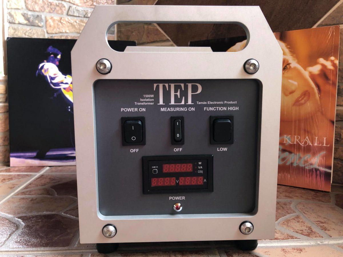 TEP High-End Hálózati Táp Szűrő