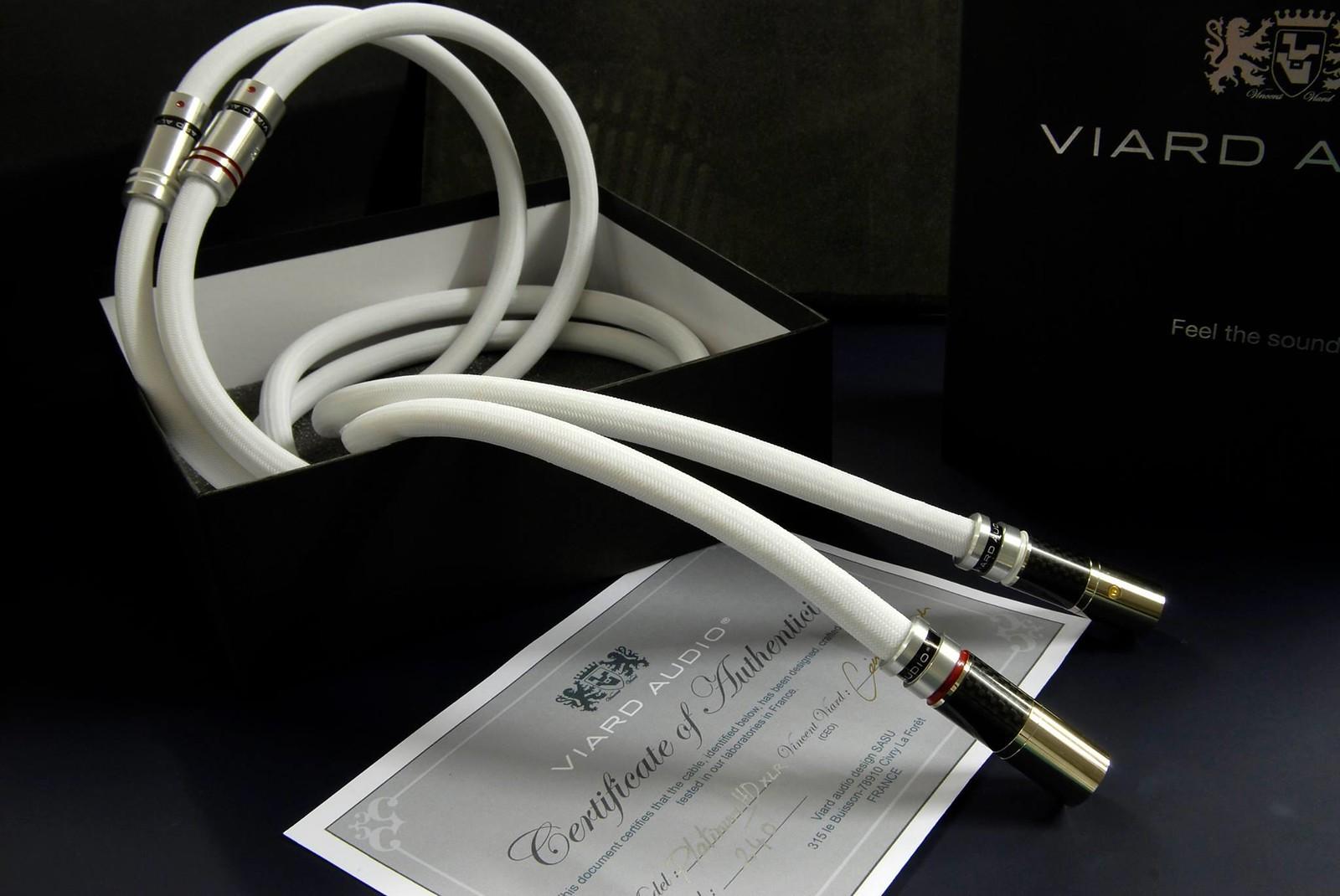 Viard Audio Platinum HD XLR Kábel