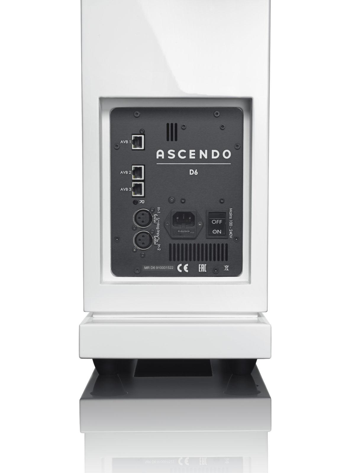 Ascendo D6 Active High-End hangszóró