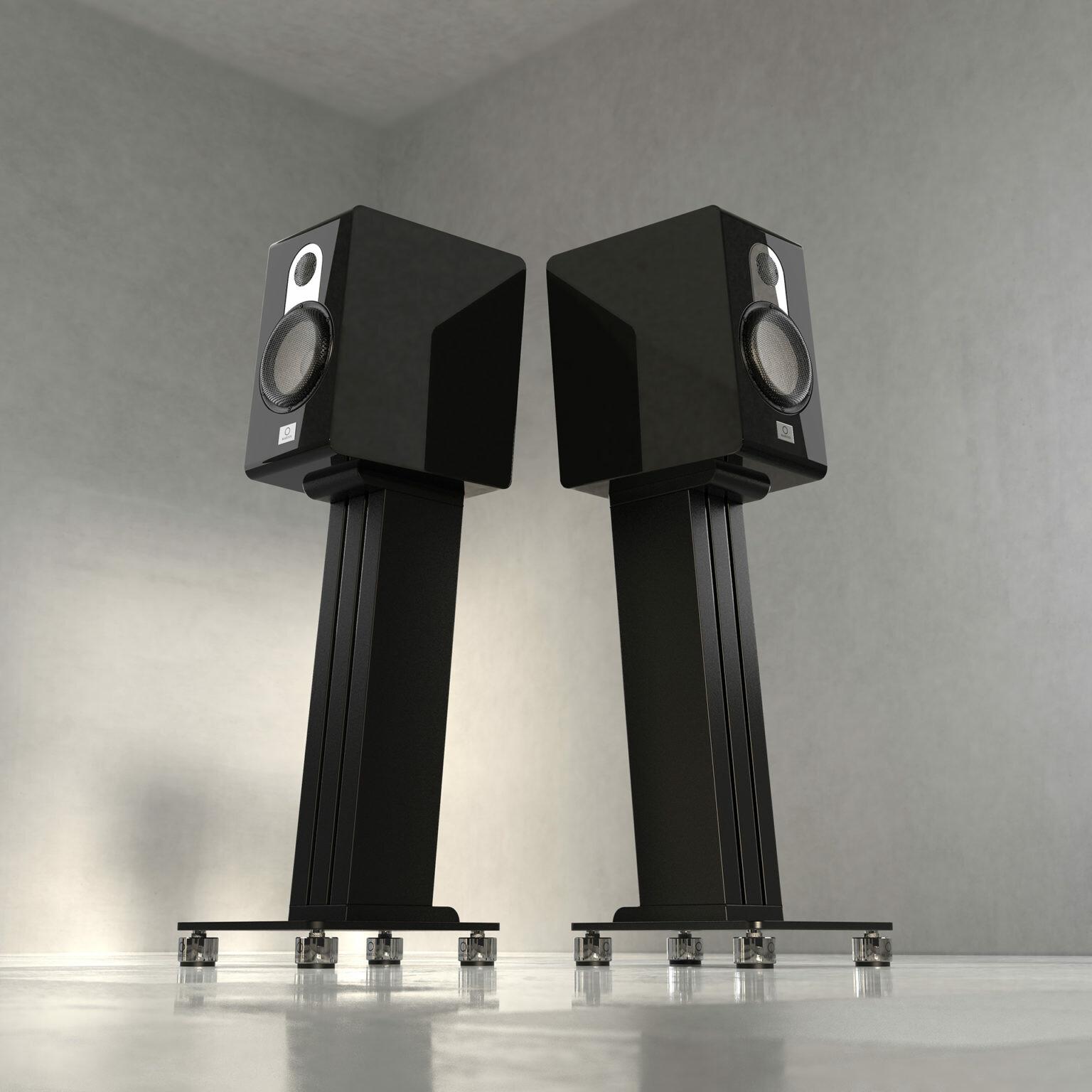 Marten Parker Duo High-End Hangfal fekete színben