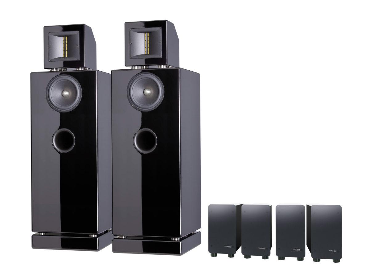 Ascendo M5 Aktiv High-End rendszer - Professional-Audio