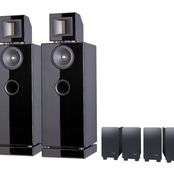 ASCENDO M5 aktív hangfal rendszer