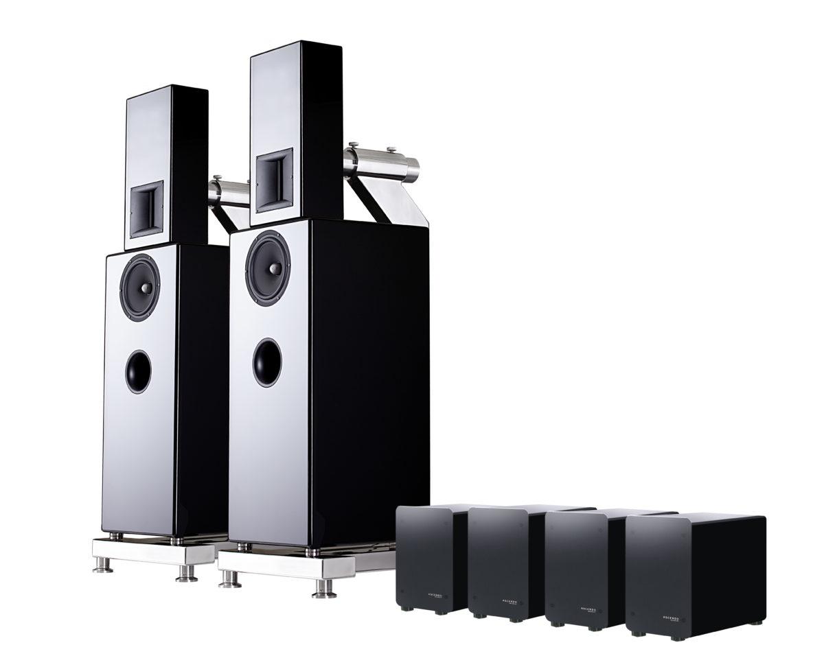 Ascendo M5S Aktiv High-End rendszer - Professional-Audio