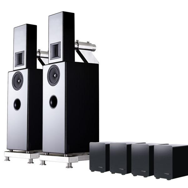 ASCENDO M5S aktív hangfal rendszer