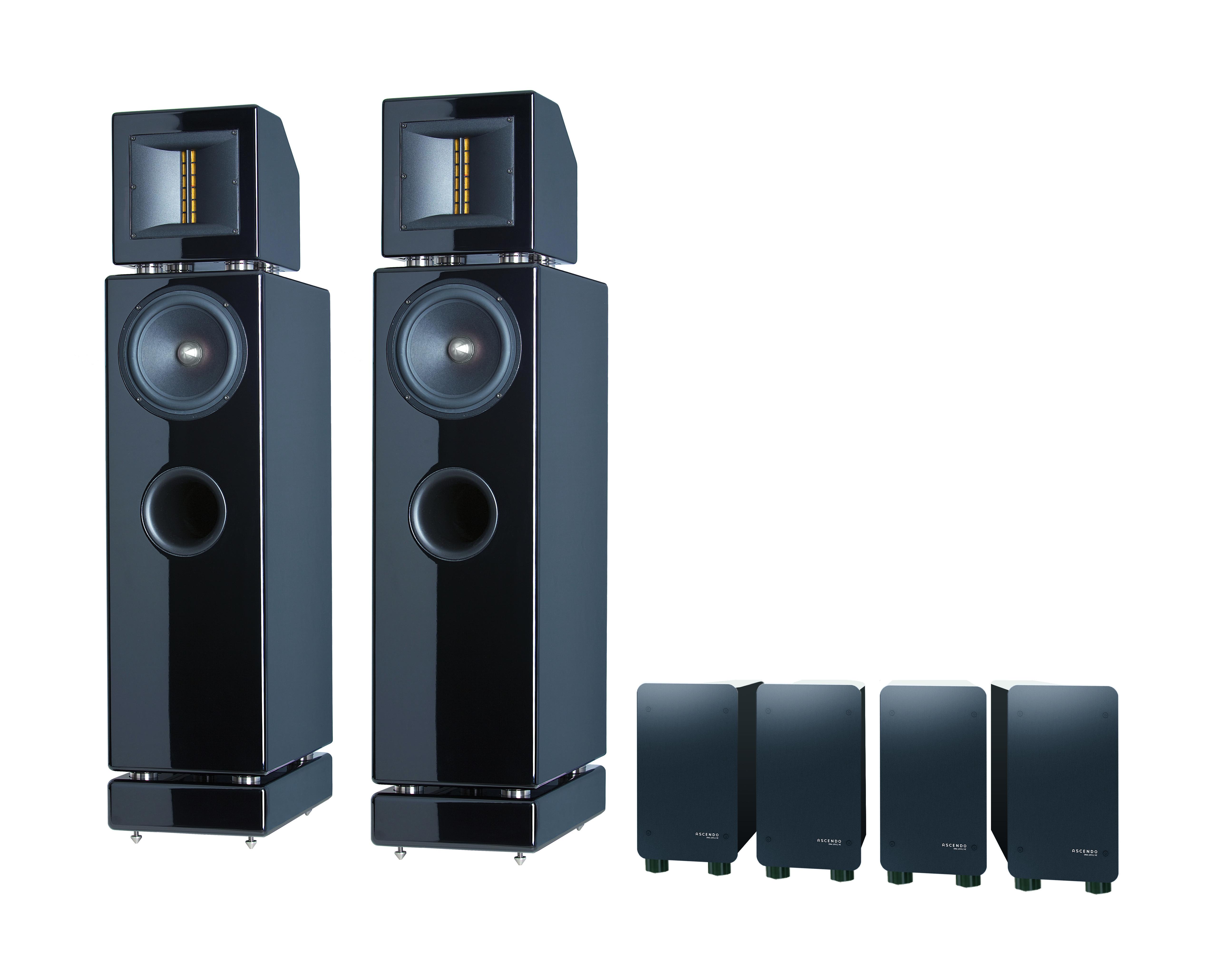Ascendo Z5 Aktiv High-End rendszer - Professional-Audio