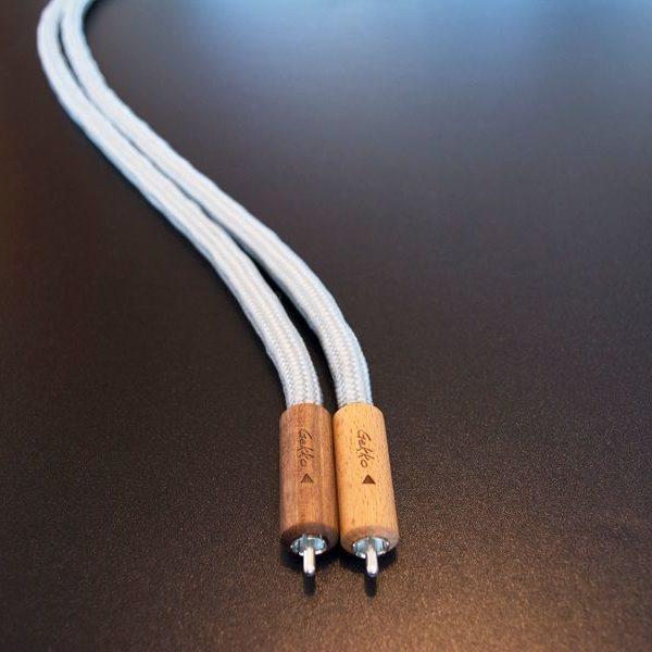 GEKKO Silver Lining RCA-RCA összekötő kábel