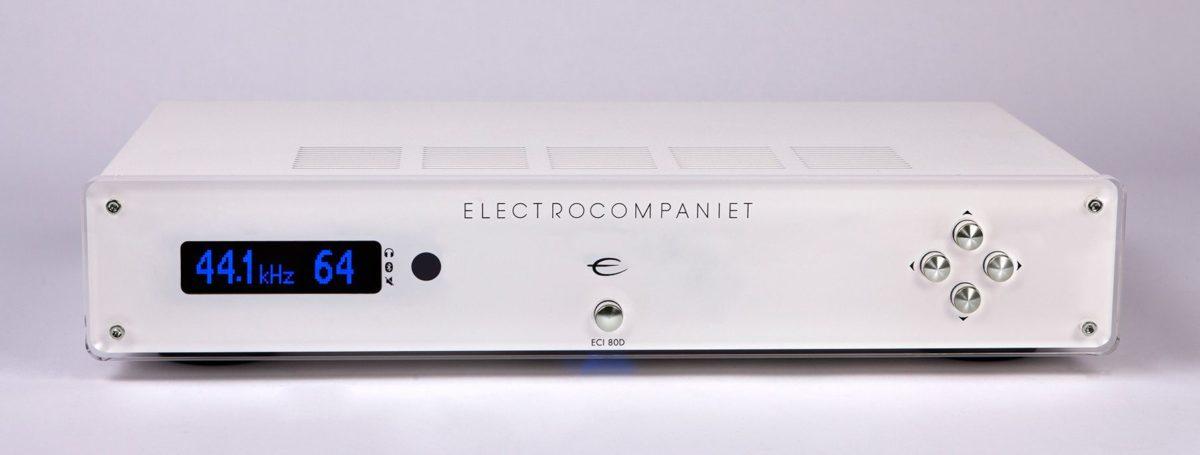 Electrocompaniet_ECI80D_White-Silver_integrált_erősítő - Professional Audio