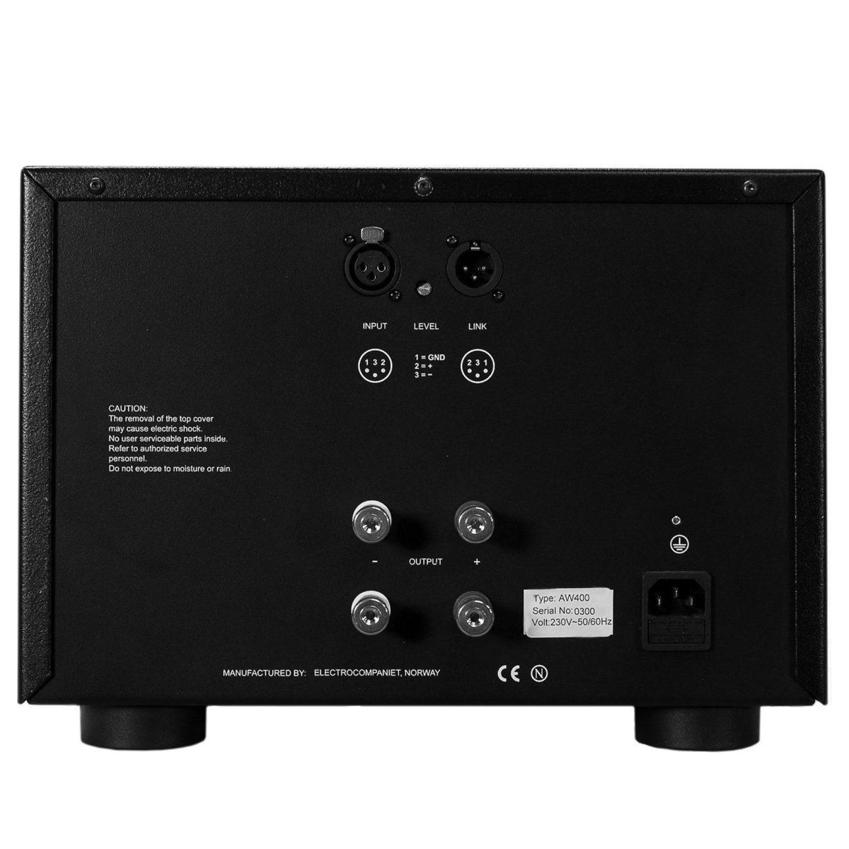 Electrocompaniet_AW400_monoblokk_2 - Professional Audio