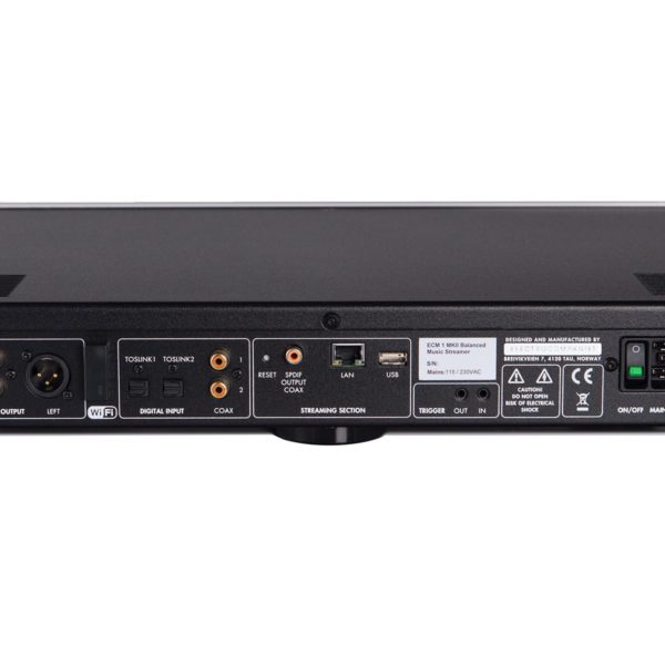 ELECTROCOMPANIET ECM1 MKII Streamer és DAC
